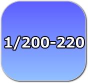 1/200,1/220,Zゲージ