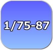 1/76,1/87,1/80,HO,16番