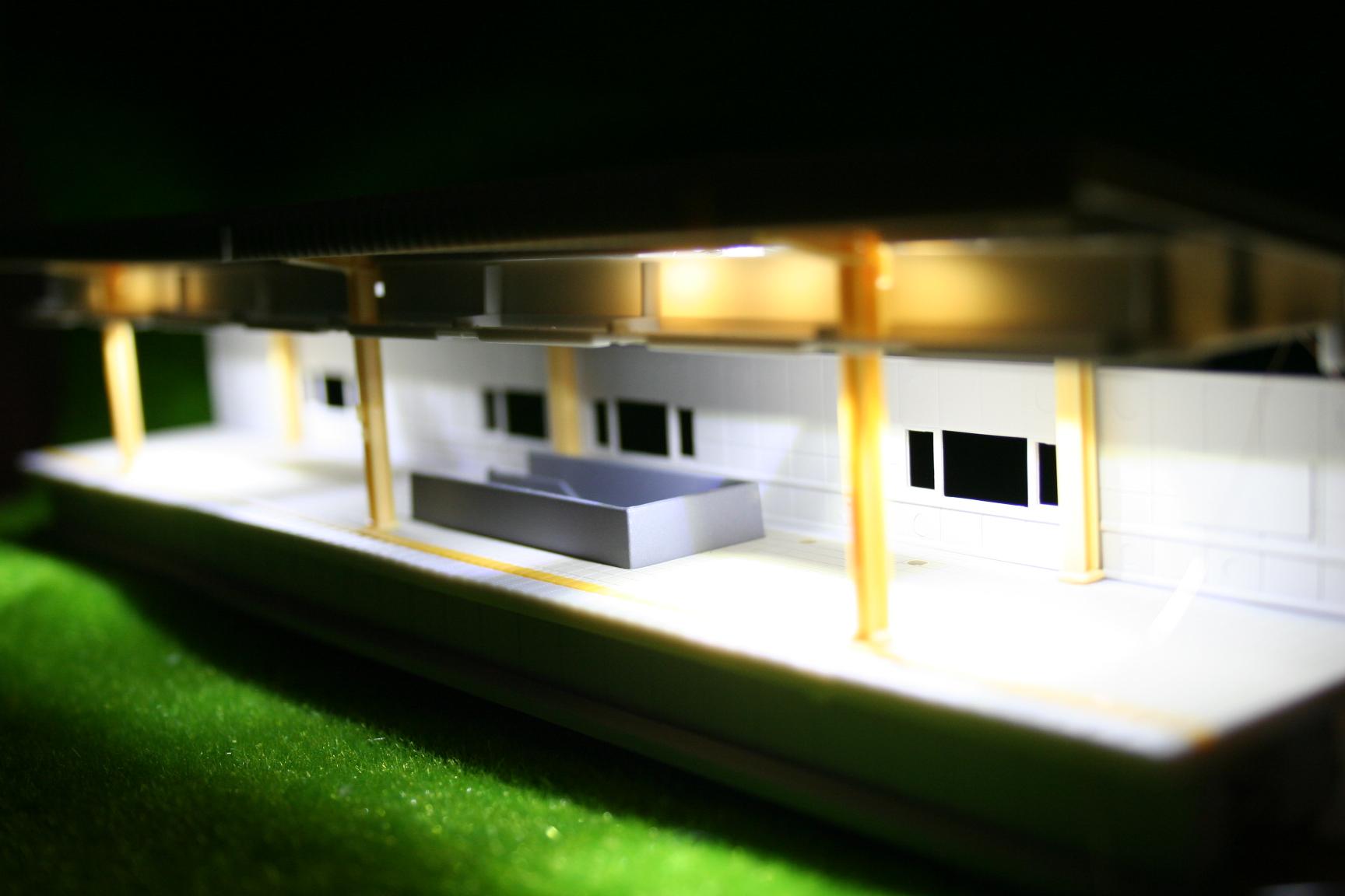 Nゲージ LED 夜景