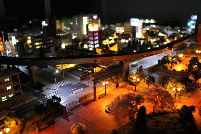 レイアウト夜景