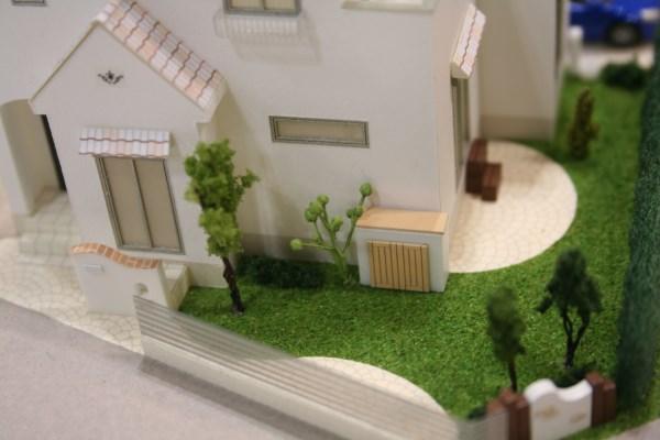 住宅模型 植栽