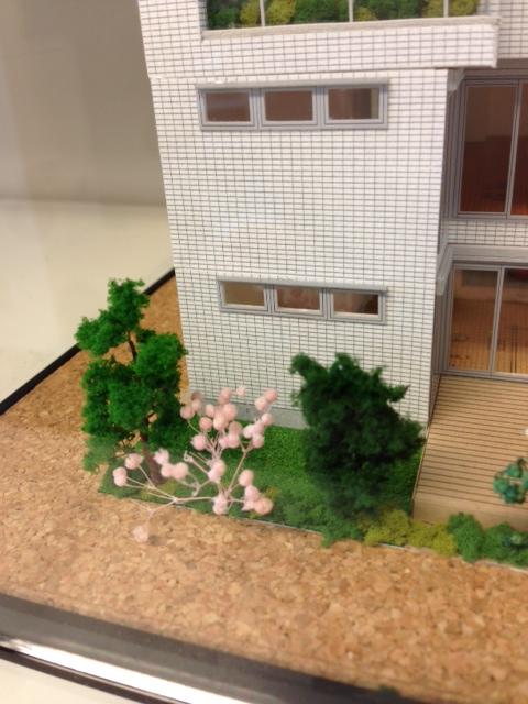 植栽 住宅模型