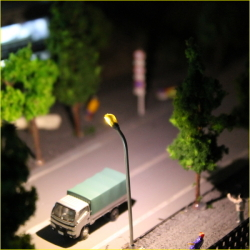 Nゲージ LED 街灯