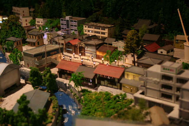 岩泉線ジオラマ