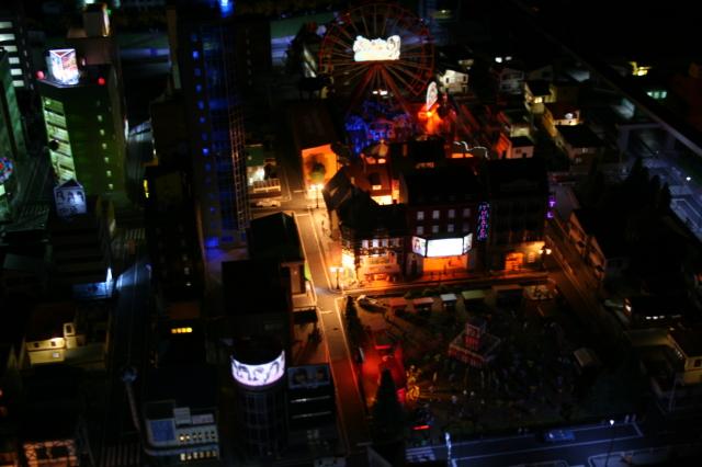 NゲージLED夜景