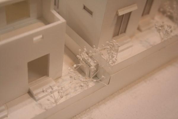 住宅模型 カスミソウ