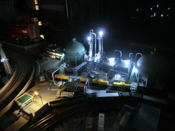 コンビナート ジオコレ 夜景