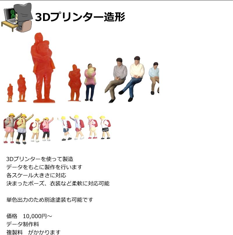 人物模型特注